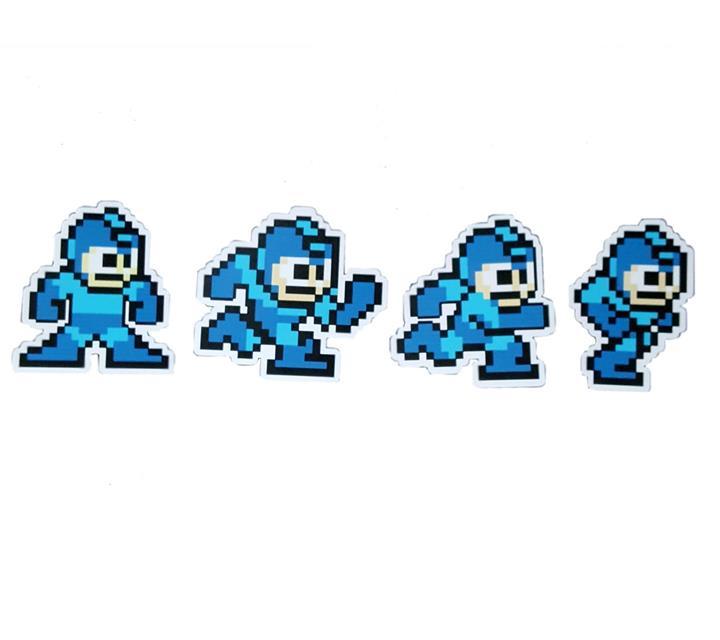 Imãs Mega Man - Fabrica Geek