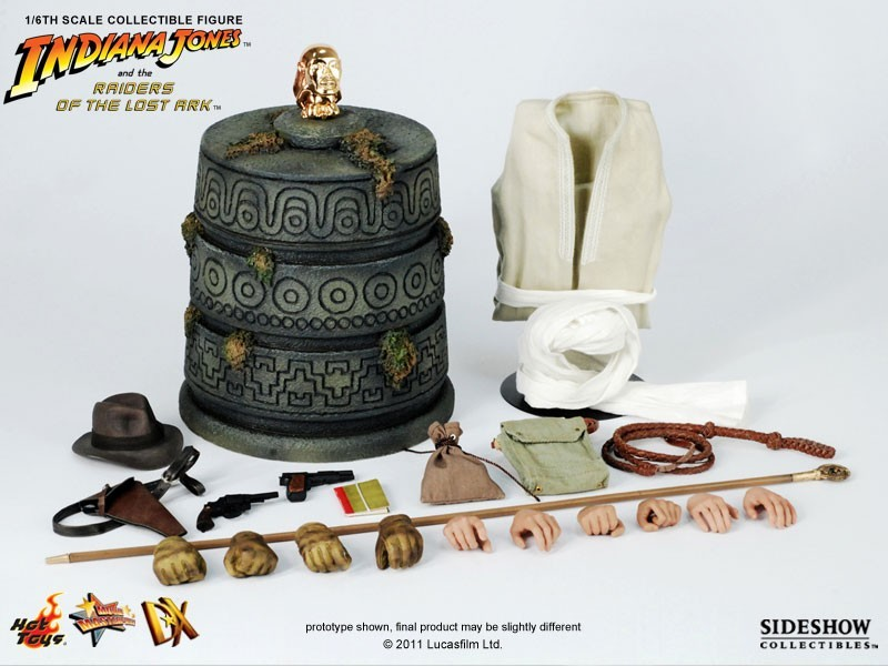 Indiana Jones DX 05 and The Raiders of The Lost Ark - Hot Toys