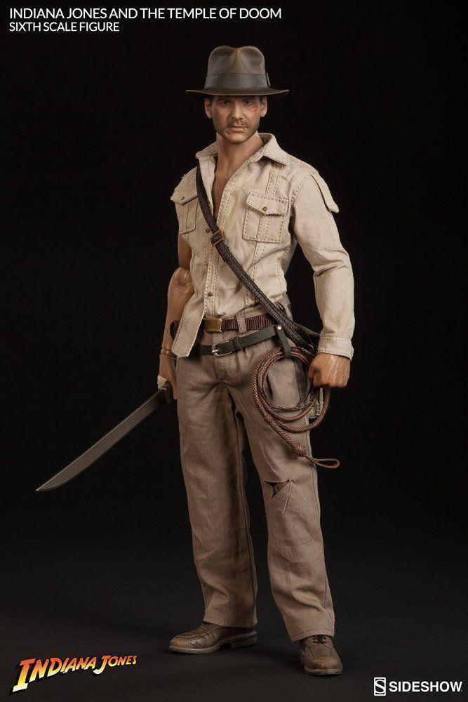 Indiana Jones The Temple of Doom Escala 1/6 - Sideshow
