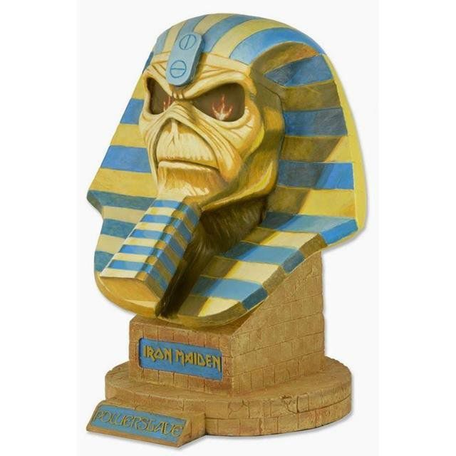 Busto Powerslave Iron Maiden Life Size - Neca - CD