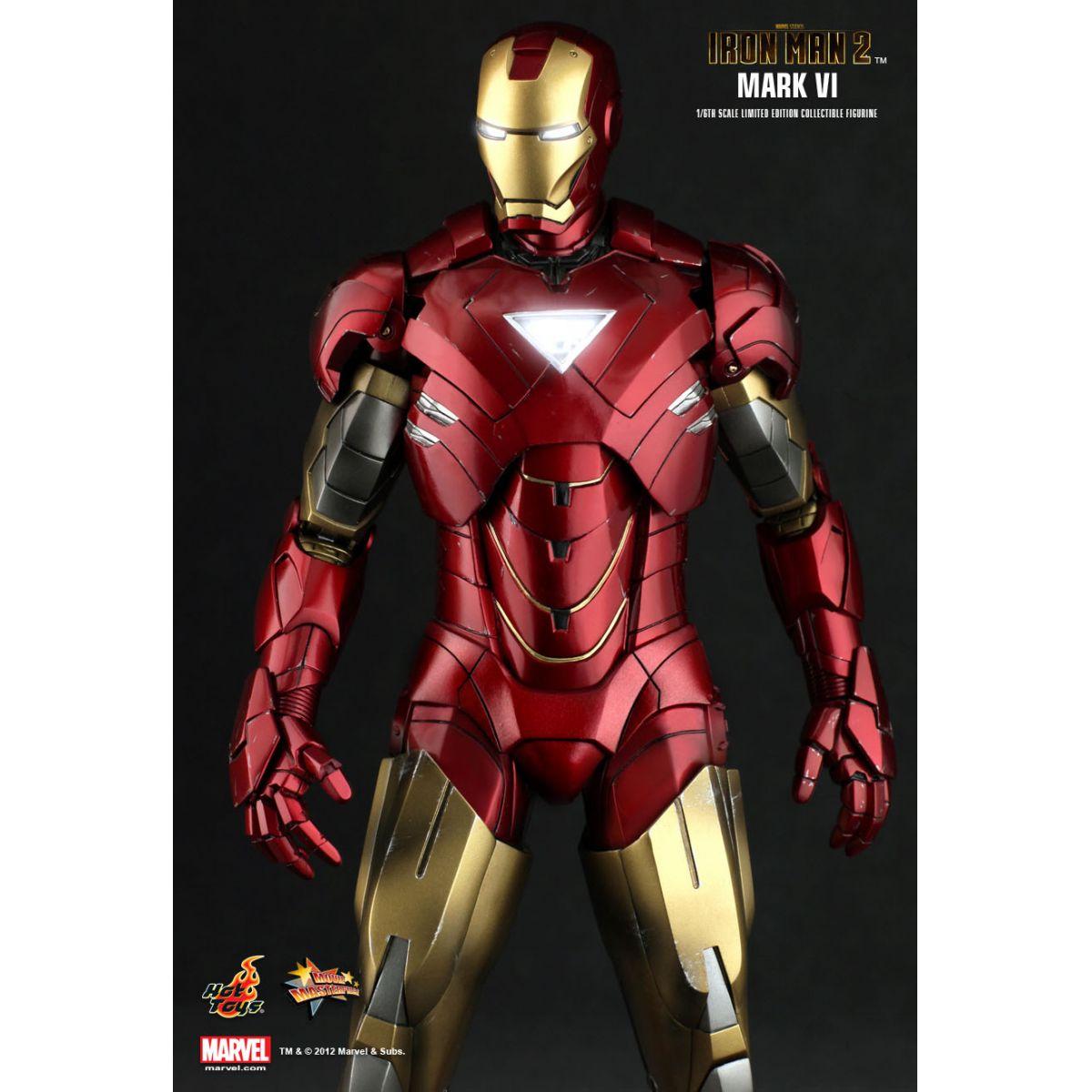 Iron Man 2: Mark VI Iron Man 2 Escala 1/6