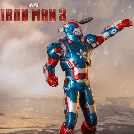 Iron Man 3 Iron Patriot 1:10 Art Scale - Iron Studios
