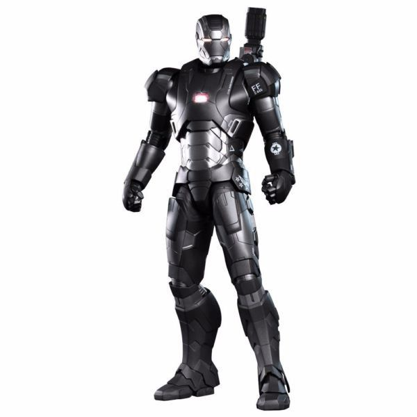 Action Figure War Machine Máquina de Combate (Mark II): Homem de Ferro 3 (Iron Man 3) Escala 1/6 (MMS198D03) DieCast - Hot Toys