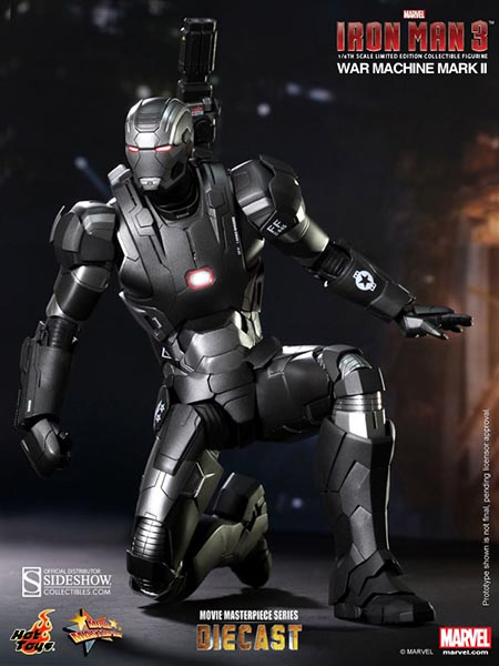Boneco War Machine (Mark II): Homem de Ferro 3 (Iron Man 3) Escala 1/6 (MMS198D03) - Hot Toys