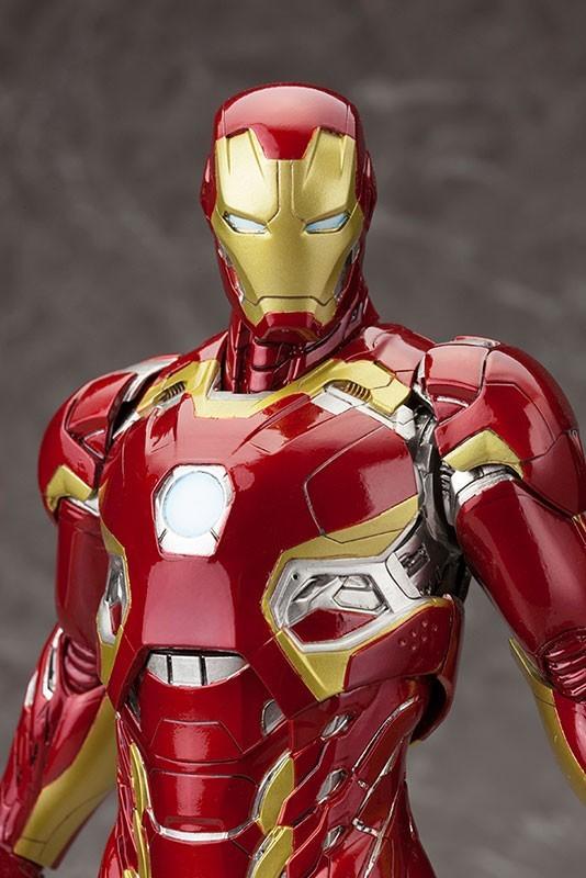 Iron Man Age Of Ultron Mark XLV ArtFX Estátua Escala 1/6 - Kotobukiya