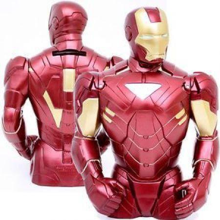 Iron Man Busto Cofre para Moedas- Diamond