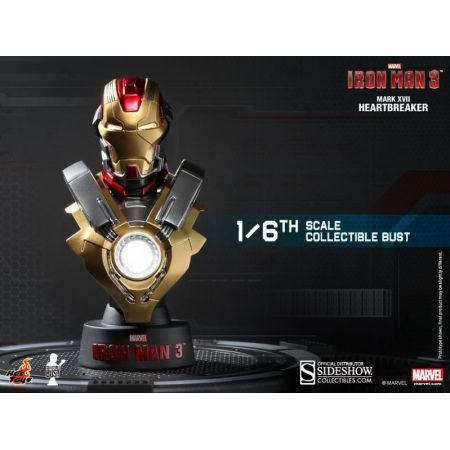 Iron Man Mark 17 Bust - Hot Toys