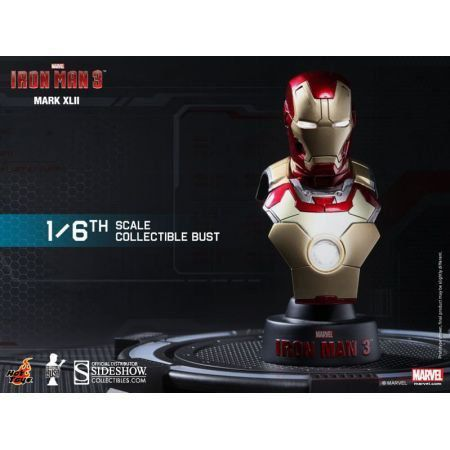 Iron Man Mark 42 Bust - Hot Toys