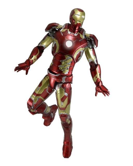 Boneco Homem de Ferro (Iron Man) Mark XLIII Vingadores: Era de Ultron (Age Of Ultron) Escala 1/4 - NECA (Apenas Venda Online)