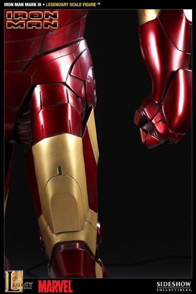 Iron Man: Mark III Legendary Scale Estátua - Sideshow (Produto Exposto)