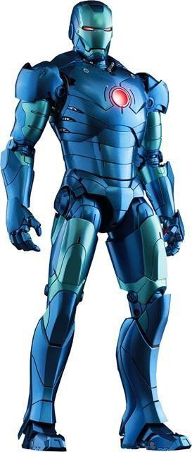 Iron Man Mark III (Stealth Mode Version) Escala 1/6 - Hot Toys