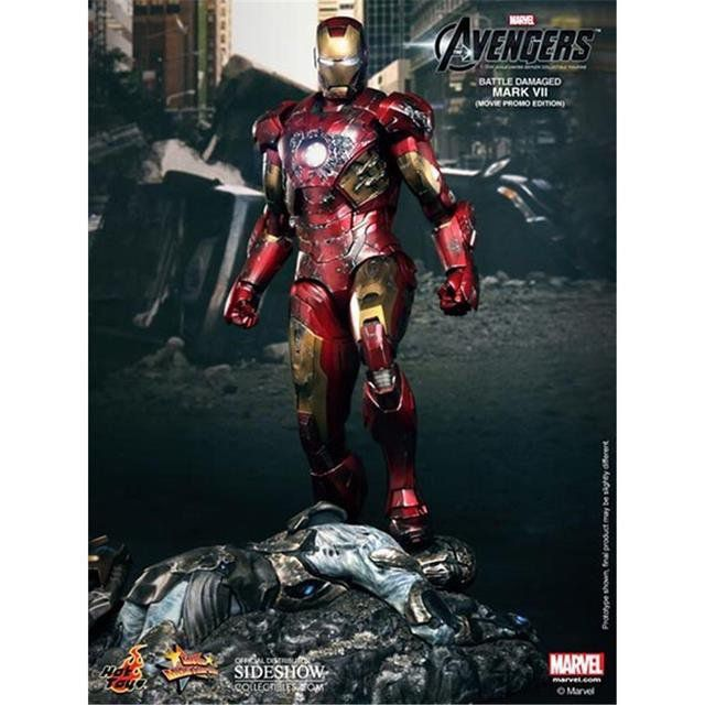 Iron Man Mark VII Battle Damage - Hot Toys