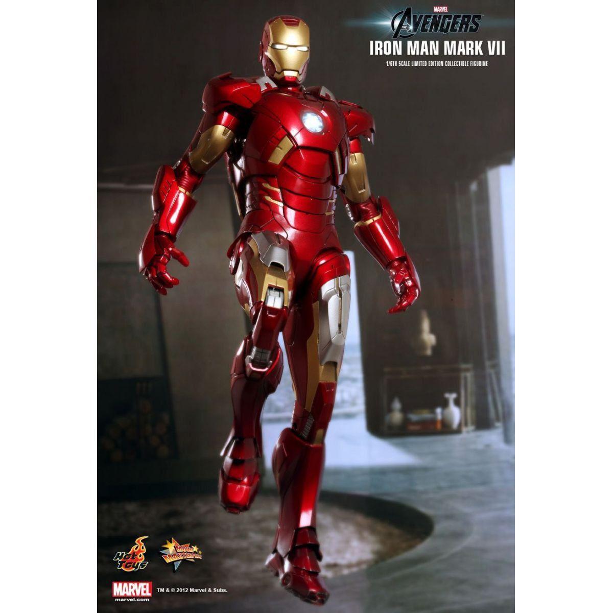 Boneco Iron Man (Homem de Ferro) Mark VII 1/6 - Hot Toys