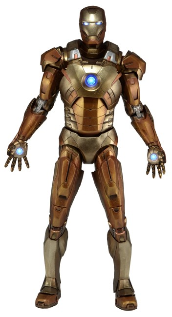 Iron Man Mark VII Midas Escala 1/4 - Neca