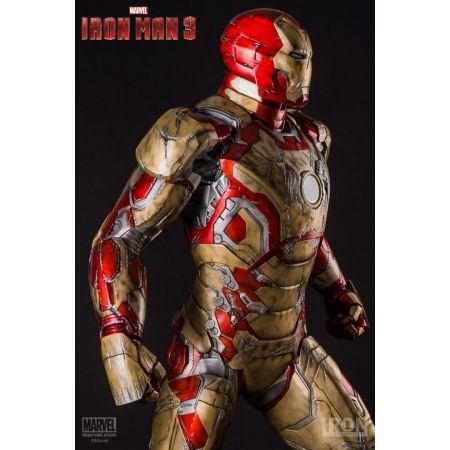 Iron Man Mark XLII Battle Damaged 1:2 - Iron Studios