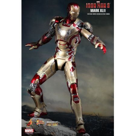 Iron Man Mark XLII Battle Damaged 1:6 - Hot Toys