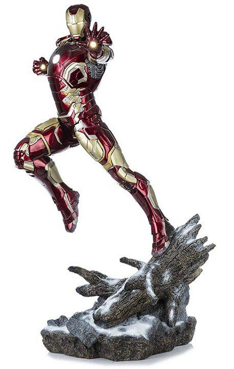 Iron Man Mark XLIII Age of Ultron 1:4 Legacy Replica - Iron Studios