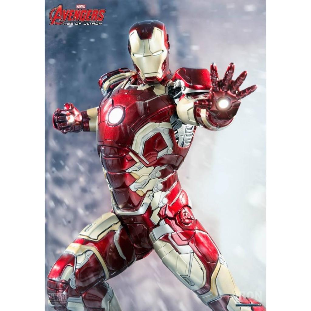 Iron Man Mark XLIII Age of Ultron 1:4 Legacy Replica - Iron Studios