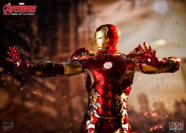 Iron Man Mark XLIII Age of Ultron Art Scale 1/10 - Iron Studios