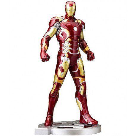 Estátua Homem de Ferro (Iron Man) Mark XLIII: Vingadores: Era de Ultron ArtFX Statue Escala 1/6 - Kotobukiya - CD