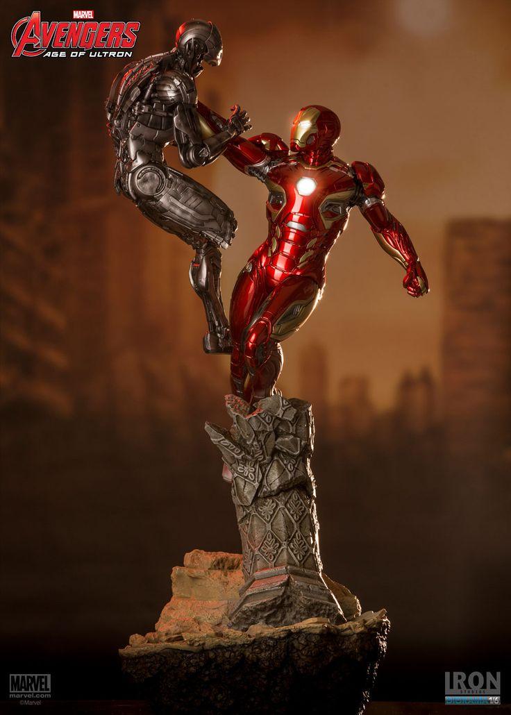 Iron Man Mark XLV Age of Ultron Diorama Escala 1/6 - Iron Studios