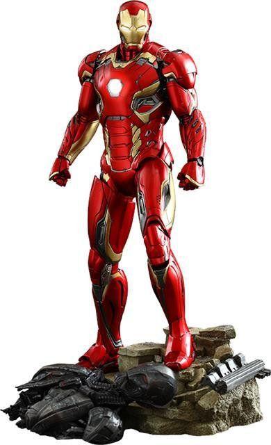 PRÉ VENDA: Age Of Ultron: Iron Man Mark XLV Escala 1/6 - Hot Toys