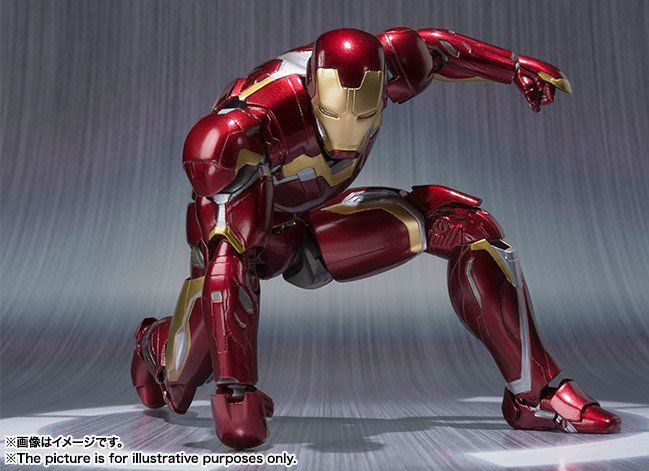 Iron Man Mark XLV Age Of Ultron S.H. Figuarts - Bandai