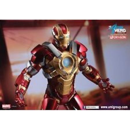Iron Man Mark XVII Heartbreaker 1:9 Model Kit - Unpainted