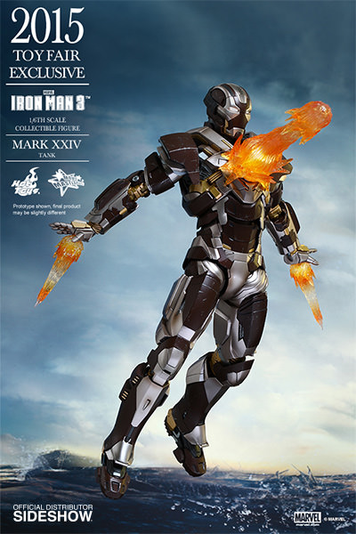 Iron Man Mark XXIV Tank Escala 1/6 - Hot Toys (Produto Exposto)