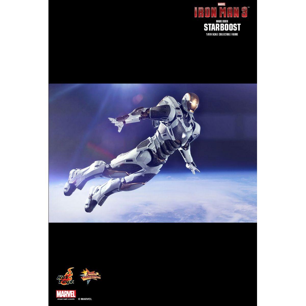 Iron Man (Homem de Ferro) Mark XXXIX Starboost Escala 1/6 - Hot Toys
