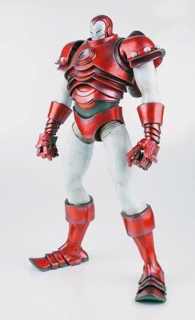 Boneco Iron Man (Homem de Ferro) Silver Centurion Escala 1/6 - Threezero - CD