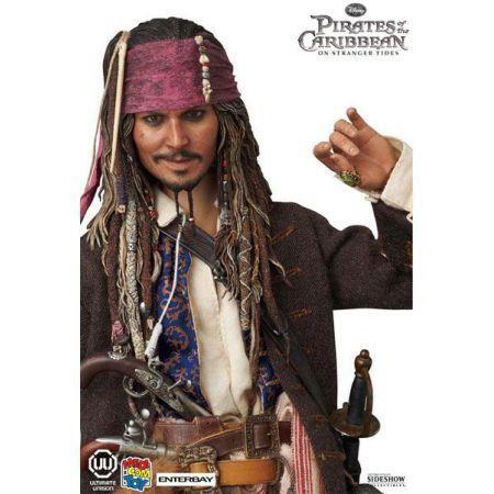 Jack Sparrow Piratas do Caribe - Medicom