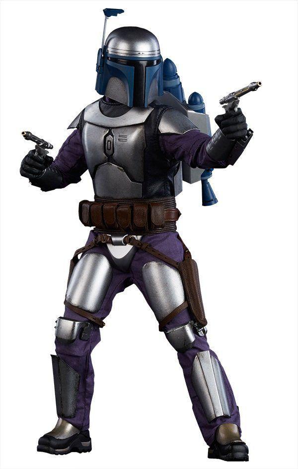 Boneco Jango Fett: Star Wars Escala 1/6 - Sideshow