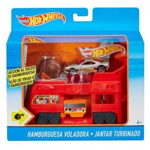 Jantar Turbinado: Hot Wheels - Mattel