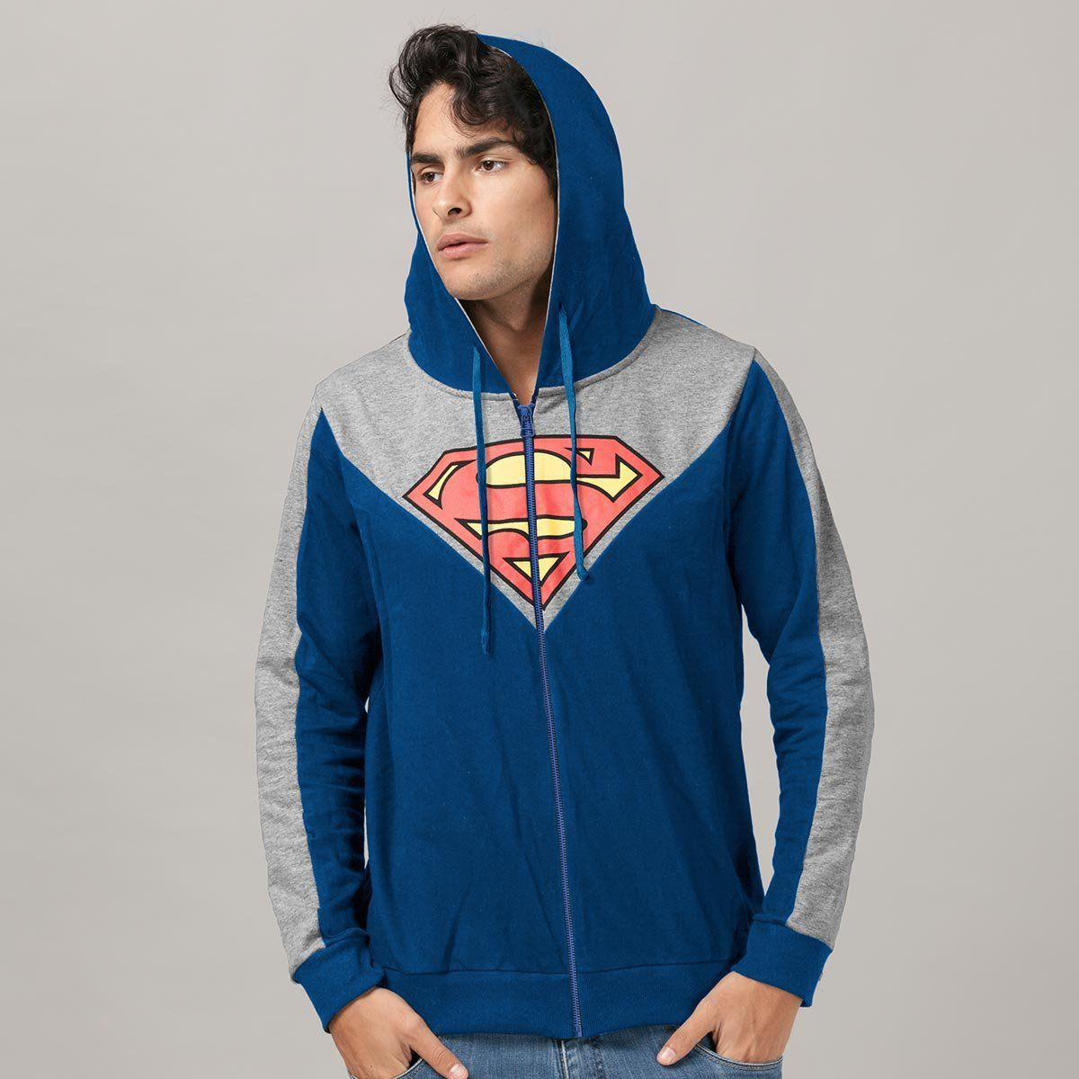 Jaqueta de Moletom Superman Logo