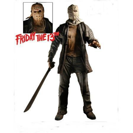 Jason Voorhees Friday The 13 1:4 - Neca