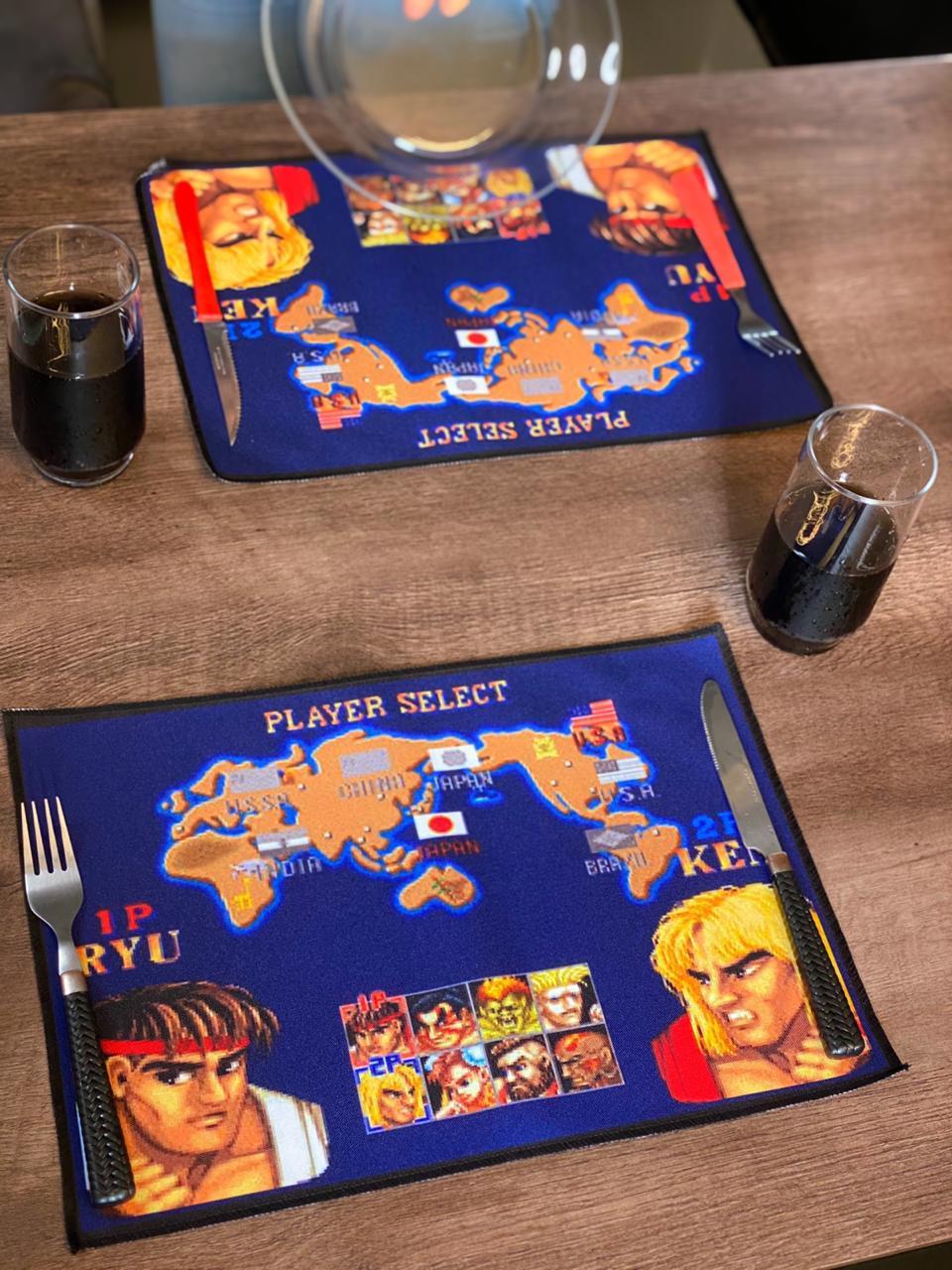 Kit Jogo Americano Para Aparelho De Jantar