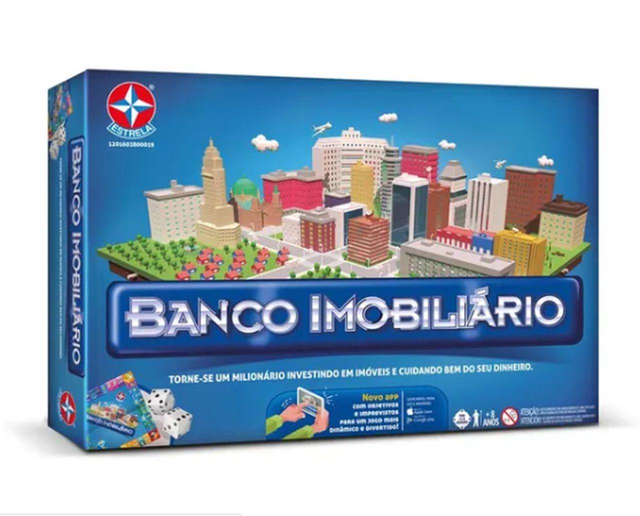 Jogo Banco Imobiliário com Aplicativo (Board Games) - Estrela