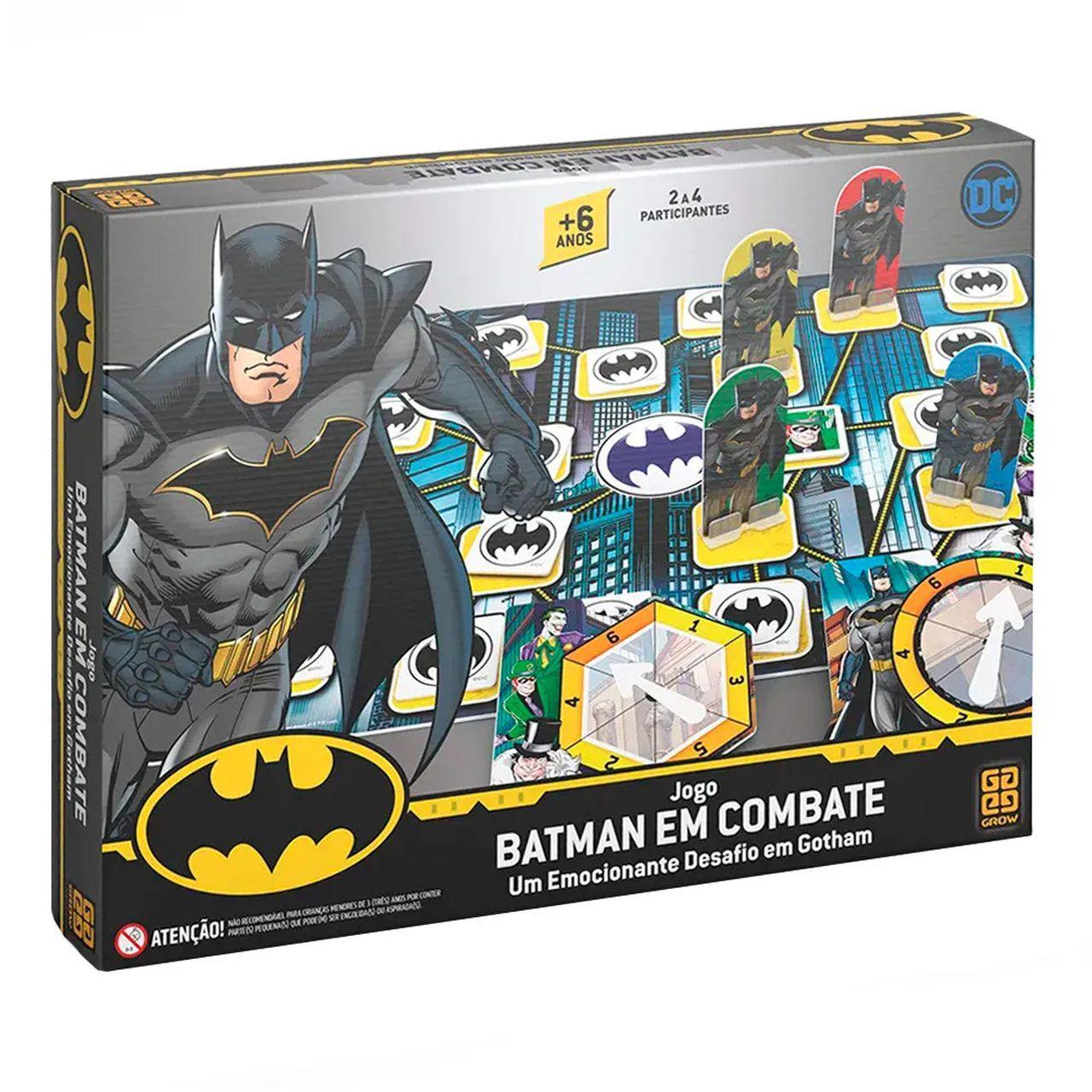 Jogo Batman em Combate (Board Games) - Grow