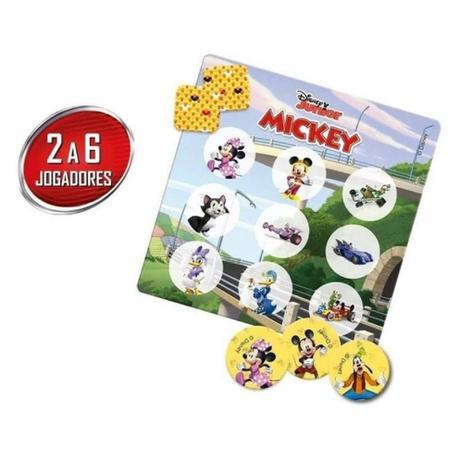 Jogo Bingo Mickey Disney Junio: 6+ - Hasbro