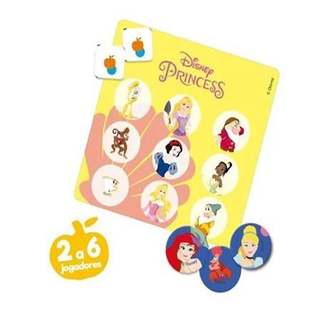 Jogo Bingo Princesas Disney: 6+ - Hasbro