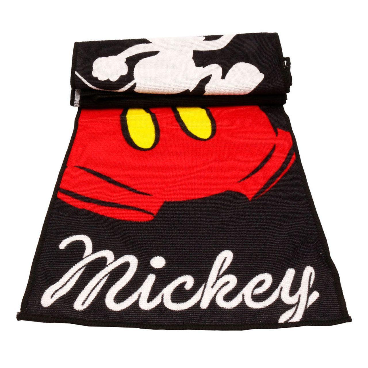Jogo Com 3 Panos Microfibra: Mickey Mouse (Preto) - Disney