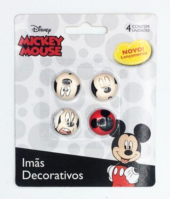 Jogo Com 4 Imãs (Sortidos): Mickey Mouse - Marvel