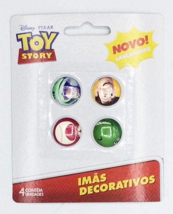 Jogo Com 4 Imãs (Sortidos): Toy Story - Disney
