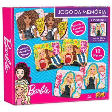 Jogo da Memoria Barbie: 12 Pares - Fun