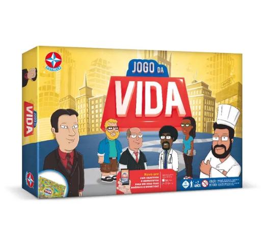 Jogo da Vida com Aplicativo (Board Games) - Estrela