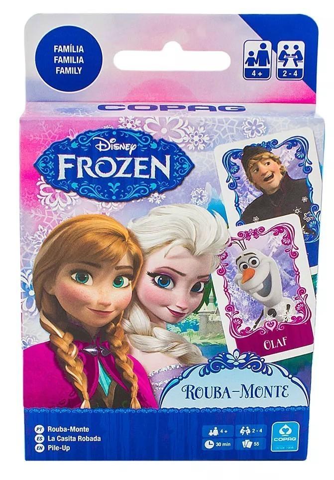 Jogo de Carta Rouba Monte: Frozen - Copag
