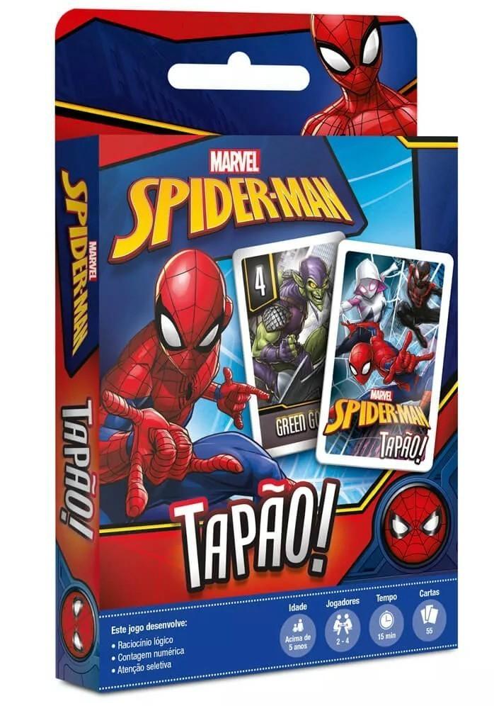 Jogo de Carta Tapão: Homem-Aranha - Copag
