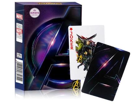 Jogo de Cartas Baralho Vingadores Avengers: Marvel Comics - MKP