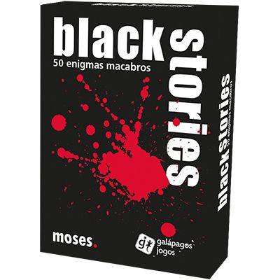 Jogo de Cartas (Board Games - Boardgames) Black Stories - Galápagos Jogos